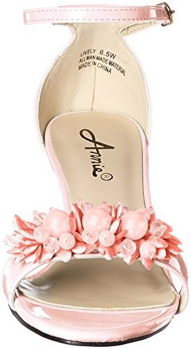 Peach Women Dress Lively Shoes W Annie Sandal fn8YHZqwfg