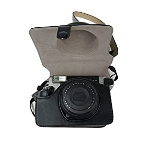 Alohallo Instax Wide 300 Case PU Leather with Shoulder Strap for Fujifilm Instax Wide 300 Instant Film Camera