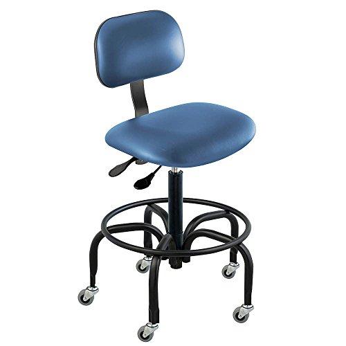 - BioFit - BTT-H-R-AV106 - Vinyl Ergonomic Chair with 27 to 32 Seat Height Range and 350 lb. Weight Capacity, Royal