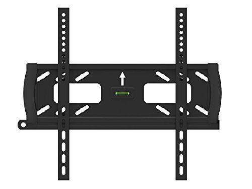 Monoprice Fixed TV Wall Mount Bracket - For TVs 32in to 55in Max Weight 99 lbs VESA Patterns Up to 400x200 Security Brackets Works with Concrete & Brick UL Certified by Monoprice