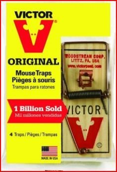 Victor m154 metal pedal mouse trap (8) ()
