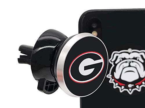 Georgia Bulldogs Magnetic Mount - Phone Holder for Car - Air Vent Magnetic Mount
