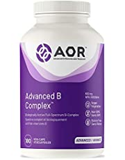 AOR - Advanced B Complex 180 Capsules - Biologically Active Full-Spectrum B Complex