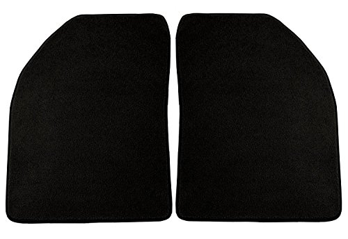 [Coverking Front Custom Fit Floor Mats for Select Austin Healey Sprite Models - 40 Oz Carpet (Black)] (Austin Floor Mat)