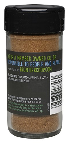 Frontier Five Spice Powder, 1.92-Ounce Bottles (Pack of 3)
