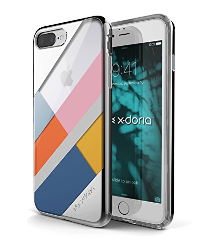 X-Doria Etui pour iPhone 7 Plus Blocs d'argent