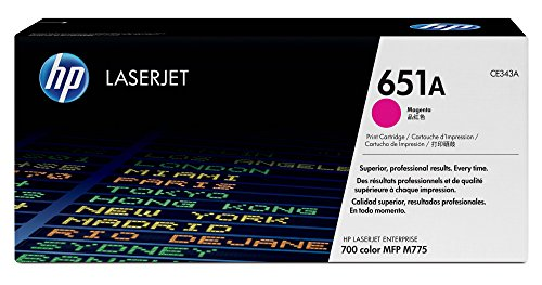 HP 651A (CE343A) Magenta Original Toner Cartridge by HP