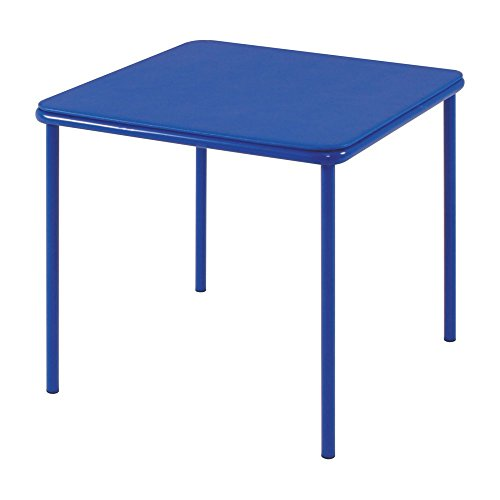 Cosco 24 x 24 Vinyl Top Juvenile Table with Screw in Legs -