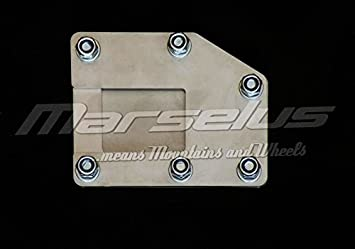 BMW R1100GS 96 side stand extension plate