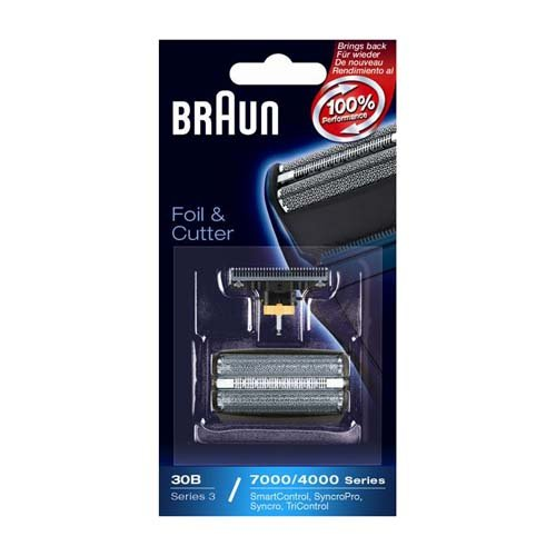 (Braun 30B Series 3 Replacement Foil & Cutter Set for 7000/4000 Series)