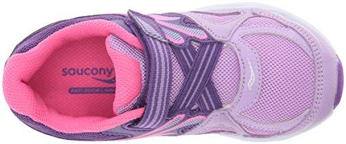 Saucony Girls Baby Ride Sneaker (Toddler/Little Kid) Light Purple