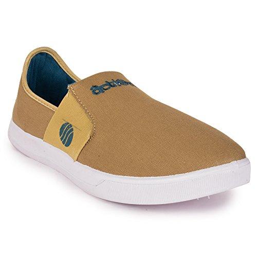 Action Shoes Men's Beige Sneakers – 10 UK (44EU) (C-1405)