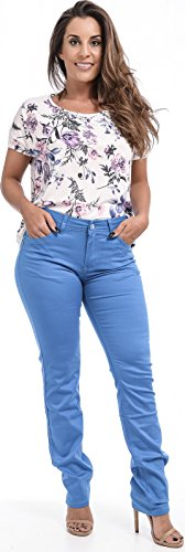 Xpression Fashion - Vaqueros - para mujer Azul