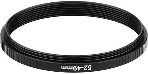Sensei PRO 52mm Lens to 49mm Filter Aluminum Step-Down Ring 3 Pack