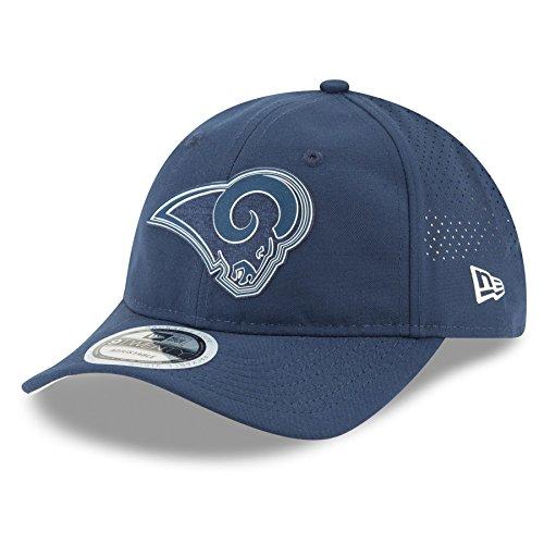 New Era Los Angeles Rams 2018 NFL On Field Training Packable 9TWENTY Cap by New Era