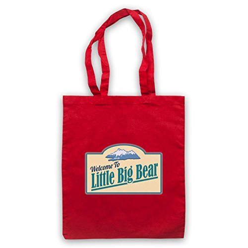 Tin Star Little Big Bear Bolso Rojo