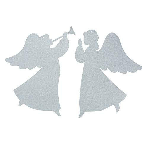 Angel Silhouette Hanging Decor