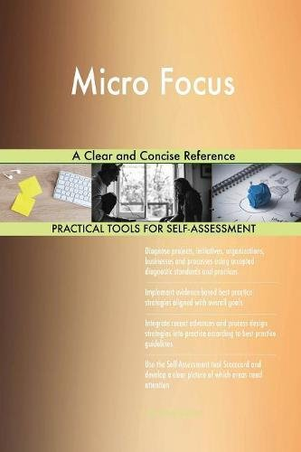 Read Online Micro Focus A Clear and Concise Reference PDF