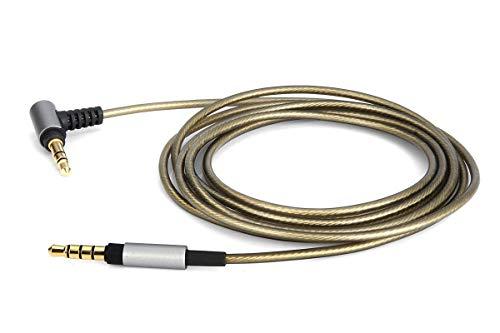 [해외]Yodonami 실버 도금 케이블 WH-1000XM2 WH-H800 WH-H900N 해당 헤드폰 케이블 リケ?ブル (1.8 m) / Yodonami Silver Plated Cable WH-1000XM2 WH-H800 WH-H900N Headphone Cable Recable (1.8m)