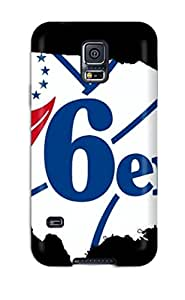 Shock-dirt Proof Philadelphia 76ers Nba Basketball (1) Case Cover For Galaxy S5