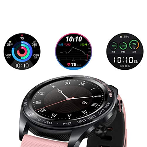 certainPL Huawei Honor Watch Dream Smart Watch, Multiple Sports Modes, Heart Rate AI Monitor, GPS, Alipay/NFC Bus Card Payment, 1.2'' AMOLED Color Screen (Black) by certainPL (Image #3)