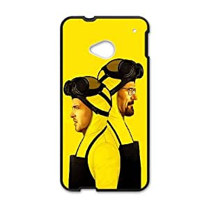 HTC One M7 Cell Phone Case Black_Breaking Bad Yellow Film Art Oxopy