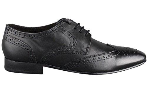 Pelle Formal Ikon Nero nbsp;scarpe Statham Oxford Uomo Brogue AqqPSZwxE
