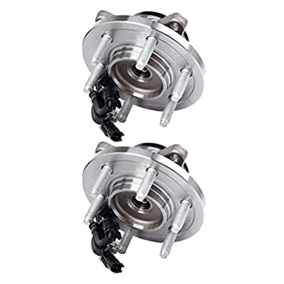 LSAILON Hub Assembly and Wheel Bearing X2 Replace for 2011-2014 Ford Expedition 2011-2014 Ford F-150 515142 Front: Automotive