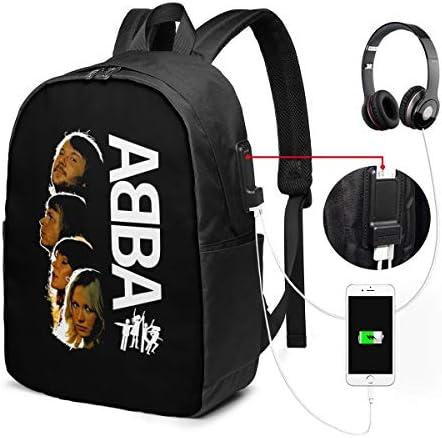 ビジネスリュック ABBA アバ メンズバックパック 手提げ リュック バックパックリュック 通勤 出張 大容量 イヤホンポート USB充電ポート付き 防水 PC収納 通勤 出張 旅行 通学 男女兼用