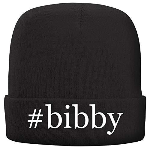 BH Cool Designs #Bibby - Adult Hashtag Comfortable Fleece Lined Beanie, Black