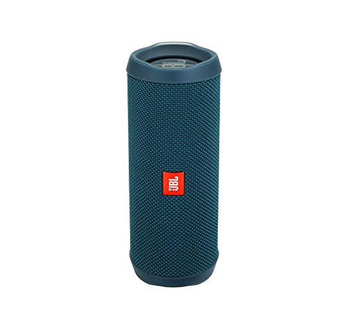 JBL Flip 4 Waterproof Portable Bluetooth Speaker - Ocean Blue (Jbl Flip Ii Wireless Portable Stereo Speaker)