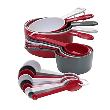 Progressive GT-3520 International 19-Piece Measuring Cup and Spoon Set (Discontinued by Manufacturer)