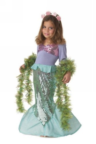 Seaweed Costumes Boa (Lil Mermaid Costume - Toddler Costume - Toddler (3T-4T))