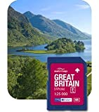 Satmap MapCard: Great Britain - Whole (OS 1:25k)