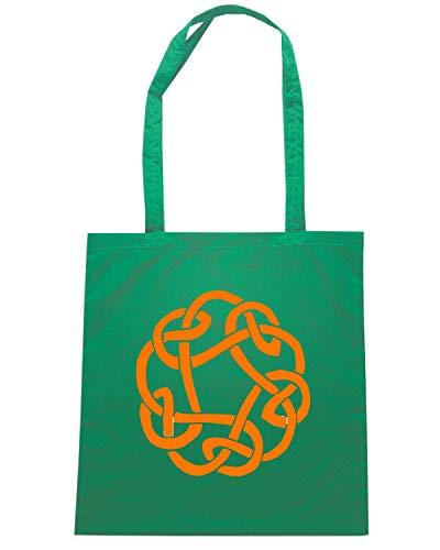 Verde Borsa Shirt KNOTS CELTIC FUN0371 Shopper 3 99694 613 Speed RC7Tnwqwv