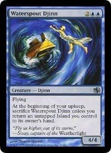 Magic: the Gathering - Waterspout Djinn - Duel Decks: Jace vs Chandra