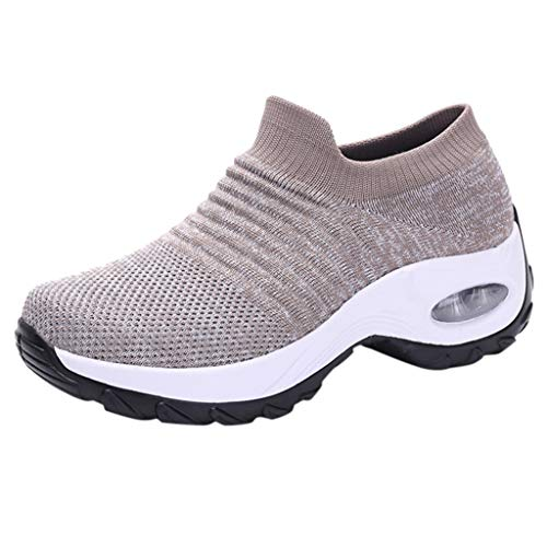 KERULA Sneaker Damen Mesh Sportschuhe Wanderschuhe Laufschuhe Turnschuhe Hallenschuhe Joggingschuhe Freizeitschuhe Walkingschuhe Fitness Schuhe für Outdoor Straßenlaufschuhe