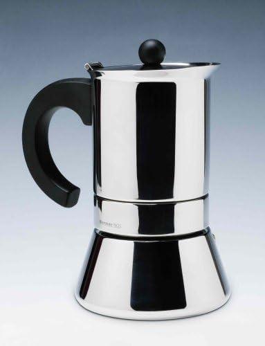 Bernar. S.A. - Cafetera induccion inox bernar 4 tazas: Amazon.es ...