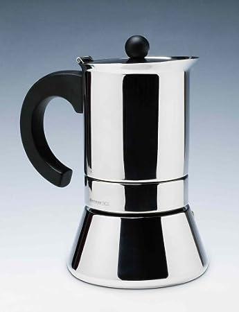 Bernar. S.A. - Cafetera induccion inox bernar 6 tazas ...