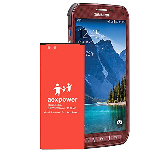 Galaxy S5 Active Battery Upgraded