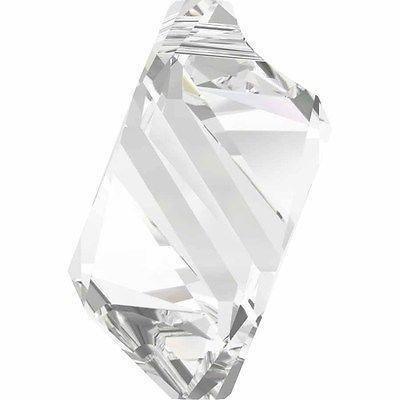 6650 Swarovski Pendant Cubist | Crystal | 22mm - 6650 Cubist Pendant | Small & Wholesale Packs