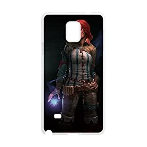 Samsung Galaxy Note 4 Cell Phone Case White The Witcher 3 Wild Hunt review Triss Merigold SLI_556303