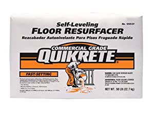 Quikrete Fast-Setting Self Leveling Floor Surfacer 50 Lb ...