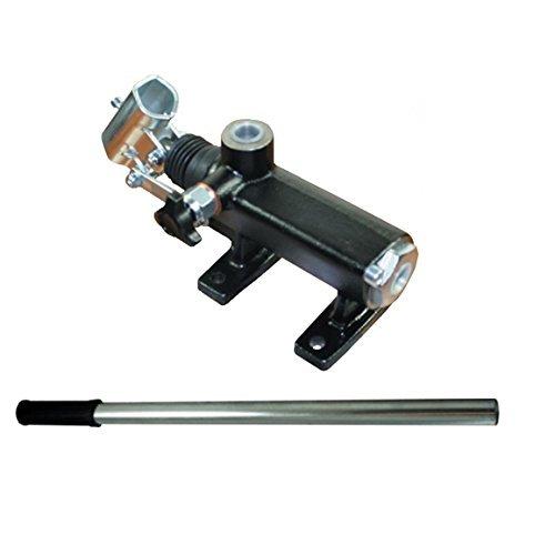 70cc Einzeln wirkend hydraulische handpumpe mit release ventil linie berg,ohne überdruck Ventil, 230 Bar bewertet. PMO70S