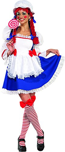 - Secret Wishes  Rag Doll Costume, Blue, Large