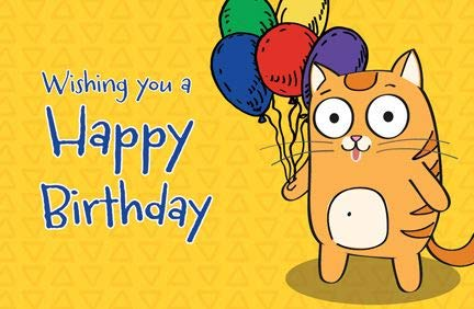Postcards - Birthday - All Ages -