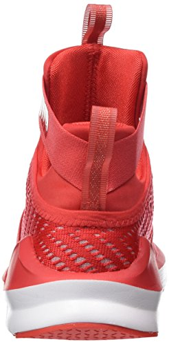 Strap Puma Fierce Red Rosso Indoor white Sportive Scarpe Donna poppy Swirl 55HqrwPZ
