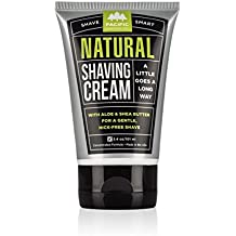Pacific Shaving Company Natural Shaving Cream, Best Shave Cream for Men and Women - Safe and Natural Ingredients, Travel/TSA Friendly