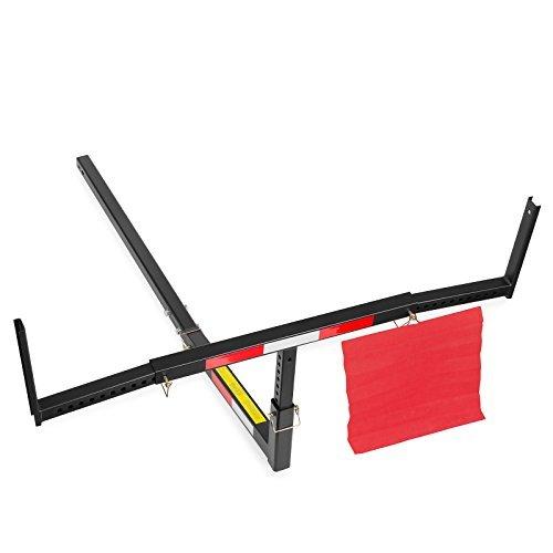 (Direct Aftermarket Pick Up Truck Bed Extender Adjustable Hitch Rack for Hauling Lumber Canoe Ladder)