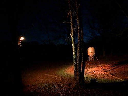 AmberGlow Hog Light Solar Harvest Time FEEDER LIGHT Motion Activated HUNTER